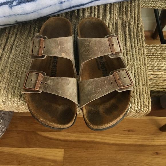 3e2f856c7b7629 Birkenstock Shoes - Birkenstock Arizona Oiled Leather- Tobacco Brown